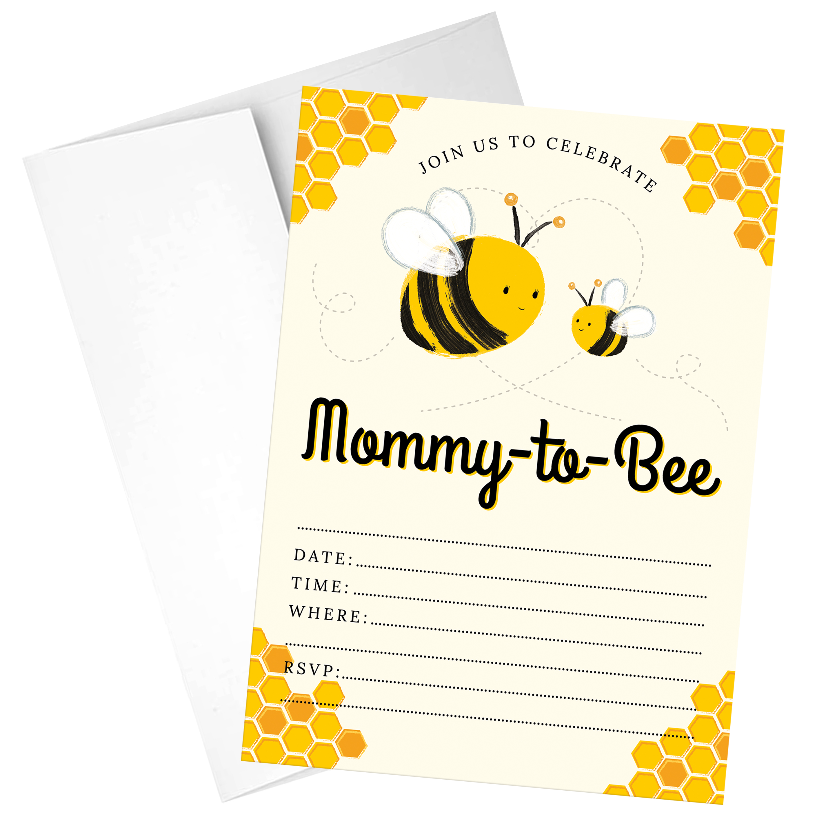 Mommy to bee baby shower invites